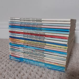 24 Vintage Betty and Veronica Digest Magazines